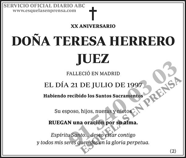 Teresa Herrero Juez